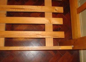 Cama 1 Plaza Para Colchón De 0,80 X 1,90