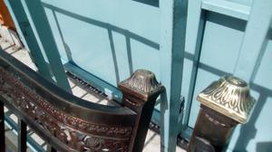 Cama bronce exelente