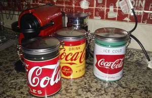 Las 3 Latas Coca Cola Vintage Coleccion Promo