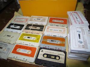 Lote de 30 cassettes