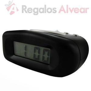 Reloj Despertador Eurotime Digital Snooze Con Luz