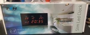 Reloj Digital Con Despertador,temperatura Y Fecha Slim