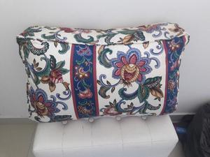 Vendo sillón cama con carrito colchón y almohadones