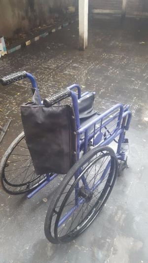 vendo juego de silla de rueda con detalle precio