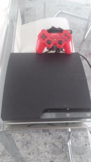 vendo play 3 slim de 120 gb $ , con un joystick!!!