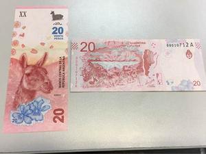 Billete 20 Pesos Guanaco  - Nuevos