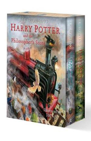 Harry Potter 1 And 2 - Illustrated - J.k. Rowling Bloomsbury