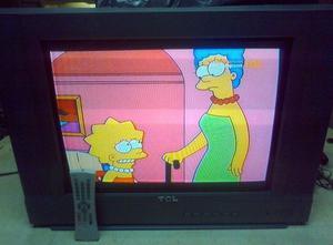 Tv TCL 21E14 de 21 pulgadas p. plana [usados en La Plata]