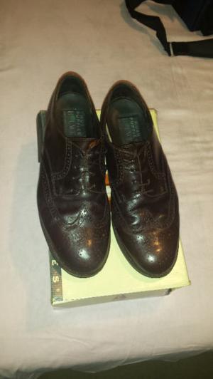 Zapatos Finos Para Hombre Cuero Hushpuppies Nro:45 Marron