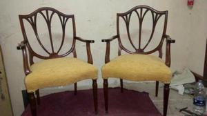 hermosos sillones de estilo INGLES restaurados