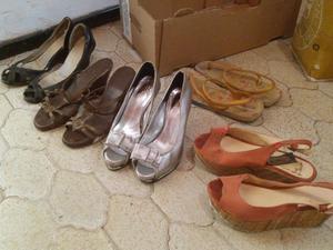 lote de zapatos de mujer n° 37