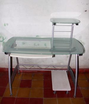 Escritorio Pc vidrio templado