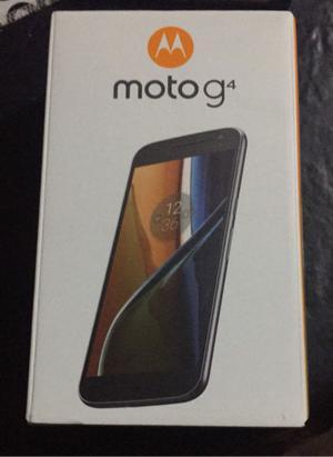 Motorola Moto G4 16 gb libre nuevo