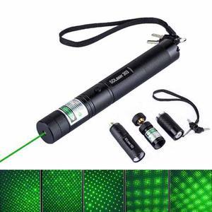 Puntero Laser Verde Recargable mw C/cargador Y Bateria