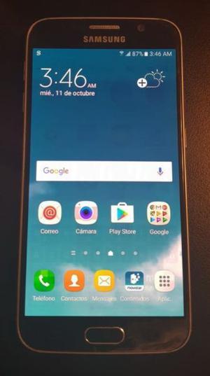 Samsung Galaxy S6 flat. Usado liberado
