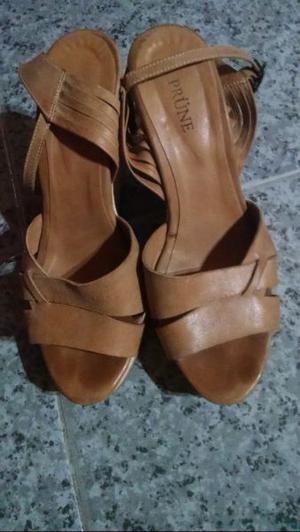 Sandalias marca Prüne de cuero