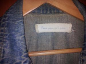 campera de jeans talle L