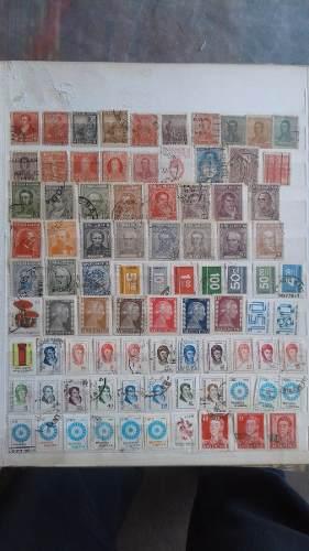 211 Estampillas Distintas De Argentina