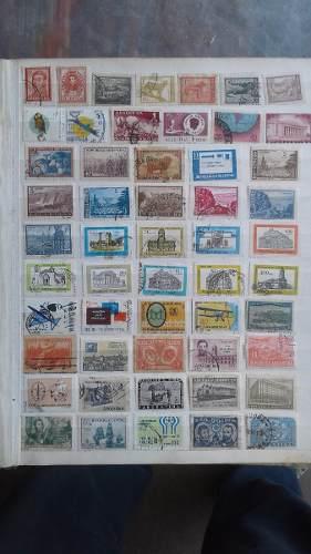 216 Estampillas Distintas De Argentina