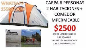CARPA 6 PERSONAS IGLU $$$ . SILVERBACK (IMPERMEABLE 2