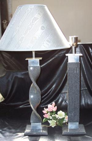 Lámparas de acrílico y corian liquidación