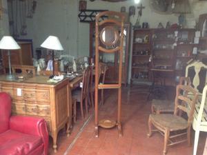 Estante recibidor mueble perchero espejo posot class - Perchero recibidor antiguo ...
