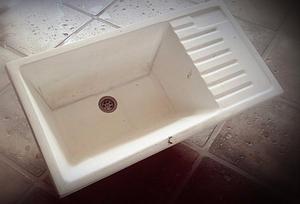 Pileta para lavadero posot class for Pileta lavadero losa