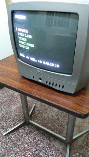 Televisor Tv Tubo 21 pulgadas Hitachi y Rca 14 pulgadas de
