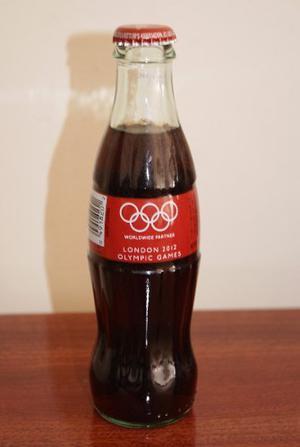 Botella Coca Cola Jjoo Londres