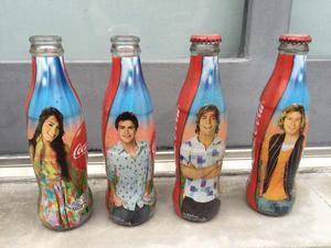 Botellas Coca Cola - Colección Teen Angels