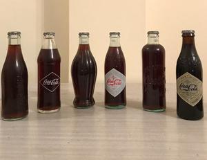 Botellitas De Coca Cola De Colección