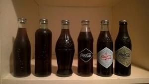 Coleccion De Botellas Coca Cola Conmemorativa  Llenas
