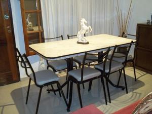 Mesa y 6 sillas !! Envío gratis !!!