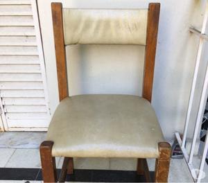 Mesa y sillas juego comedor de diario