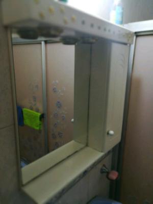 Peinador espejo botiquin laqueado x posot class for Mueble botiquin