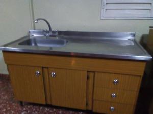 Mueble de cocina madrid bajo mesada alacena posot class for Muebles de cocina usados