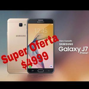 Samsung J7 Prime 16gb. NUEVOS. Garantia. LIBRE De Fabrica.