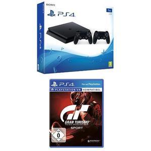 Sony PS4 Slim 1Tb 2 Controles Dualshock Juego Gran Turismo