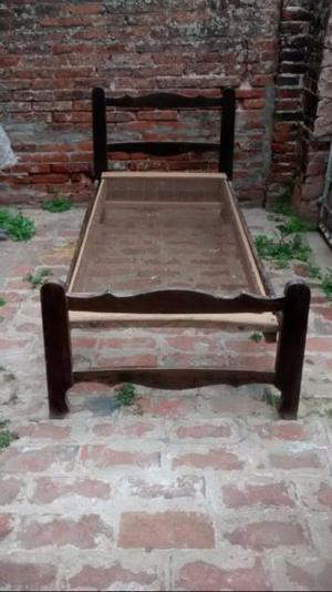 Vendo cama de 1 plaza con colchón