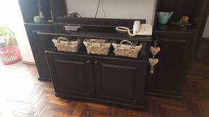 Vendo mueble de pino wengue