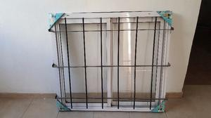 Vendo ventanas de aluminio con reja c/u