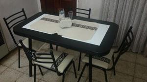 mesa mas 4 sillas con envio!!