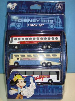 Disney Store Bus Colectivo Pack X 3 Expreso Magico