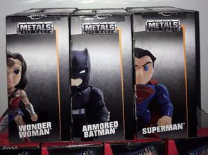 """Figura Muñeco de Batman V Superman Metals Die Cast 4"""" Jada"""