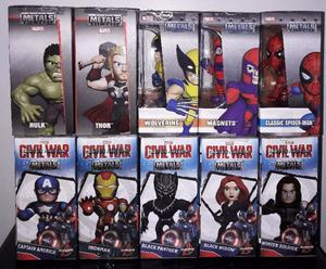 "Figura Muñeco de Marvel Metals Die Cast 4"" Jada Toys"
