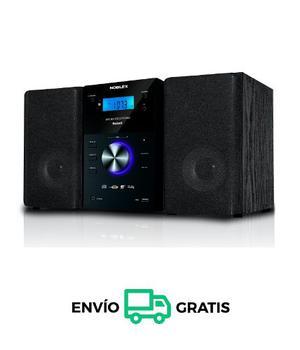Microcomponente Bluetooth 400w Noblex Mm43bt Envío Gratis