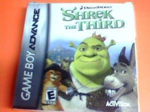 Shrek The Third - Advance Original - Completo Caja Y Manual