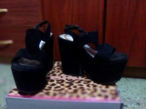 Zapatos con plataforma numero 37
