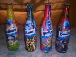 Botellas quilmes coleccionables