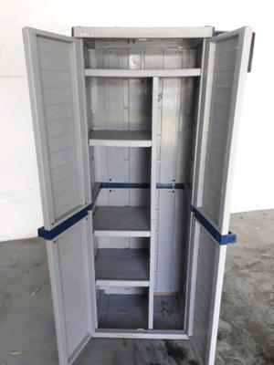 Armario plastico mueble para ba o lavadero posot class - Armarios plastico exterior ...